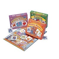 Childcraft First Skills Language Learning Games, Set of 3