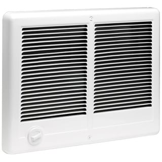 Cadet CSTC402  Com-Pak Twin 13684 BTU Electric Wall Heater - White