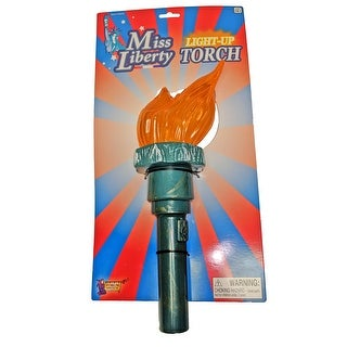 Liberty Torch Costume Prop Accessory
