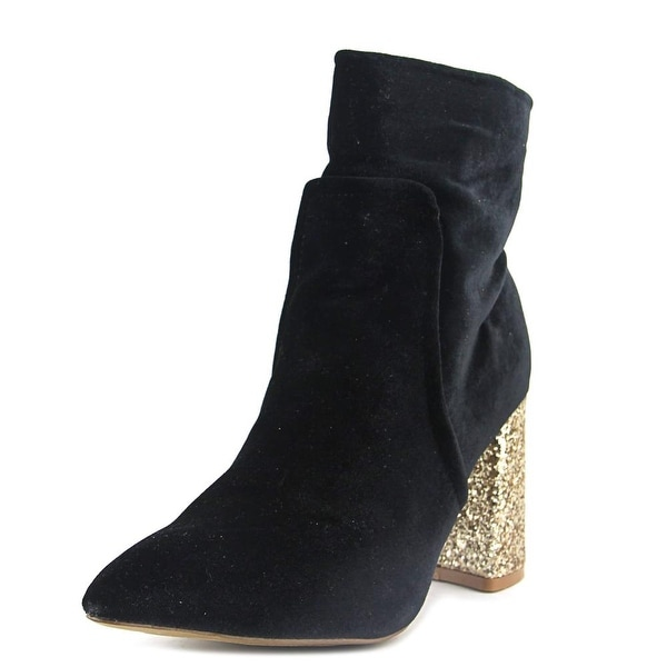 Betsey Johnson Kacey Black Boots