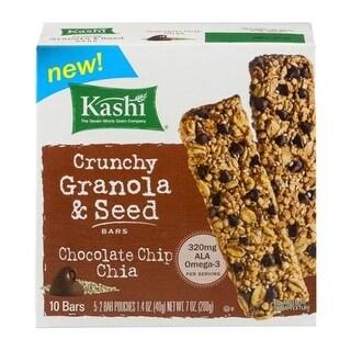 Kashi - Chocolate Chip Chia Crunchy Granola Bar ( 12 - 7 OZ)