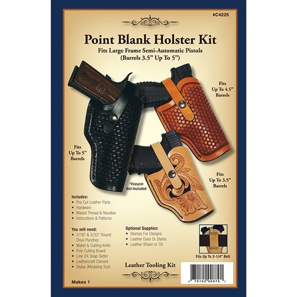 Leathercraft Kit-Point Blank Holster