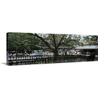 Premium Thick-Wrap Canvas entitled Louisiana, New Orleans, French Quarter - Multi-color
