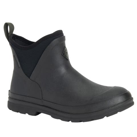 Muck Boot Muck Originals Ankle Pull On Womens Boots Ankle - Black