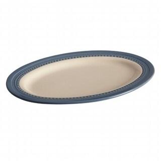 Paula Deen 58477 10-Inch x 14-Inch Oval Platter Blueberry