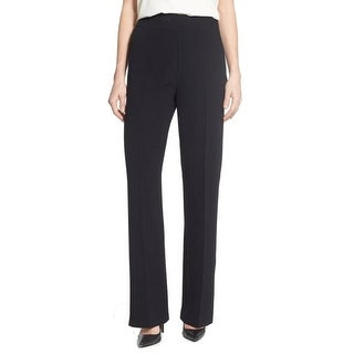 Catherine Malandrino NEW Black Women's Size 8 Crepe Dress Pants