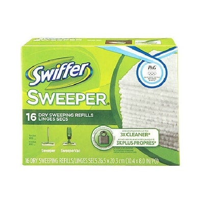 Shop Swiffer 31821 Dry Disposable Sweeping Cloths 16