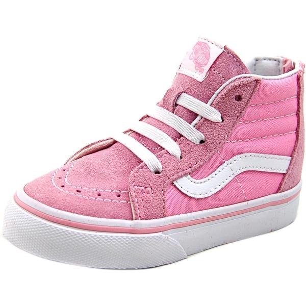 Vans Sk8-Hi Women Round Toe Canvas Pink Sneakers