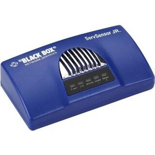 Black Box EME153A Black Box AlertWerks ServSensor Jr. Kit with PoE, 2-Port, (1) Temperature Sensor