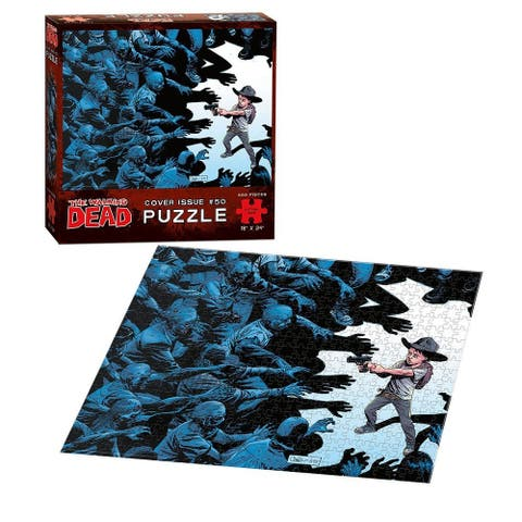 The Walking Dead Cover Art Issue #50 550-Piece Puzzle - multi