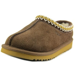Ugg Australia Tasman Women Round Toe Suede Brown Slipper