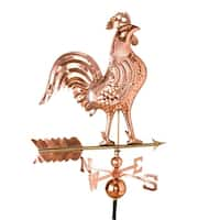 Weathervane Copper Rooster Large Daybreak