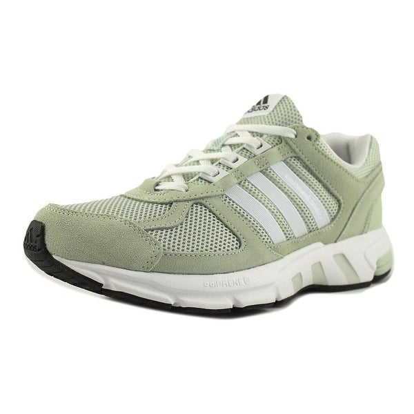 competitive price cd6c1 d8eb7 Adidas Equipment 10 W Women Round Toe Synthetic Green Running Shoe