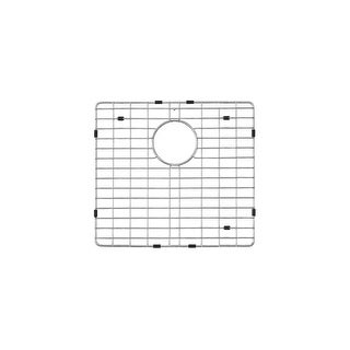 Miseno MNOGRB3320F6040 Fitted basin rack from Miseno - MSS3320F6040 Kitchen Sink (Left/Large) - STAINLESS STEEL - N/A