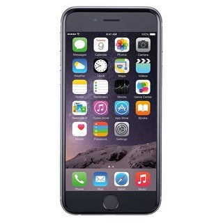 Apple iPhone 6 Plus 16GB Unlocked GSM Phone w/ 8MP Camera (Certified Refurbished)