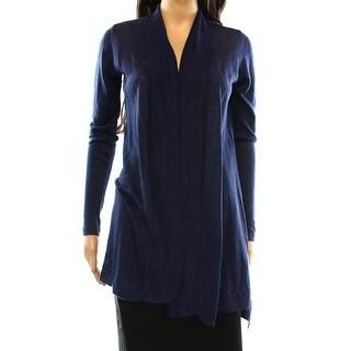 Alfani NEW Blue Navy Nautical Women's Size Large L Cardigan Sweater