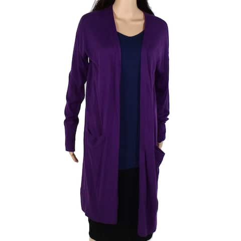 Halogen Womens Sweater Royal Large Cardigan Fly Away