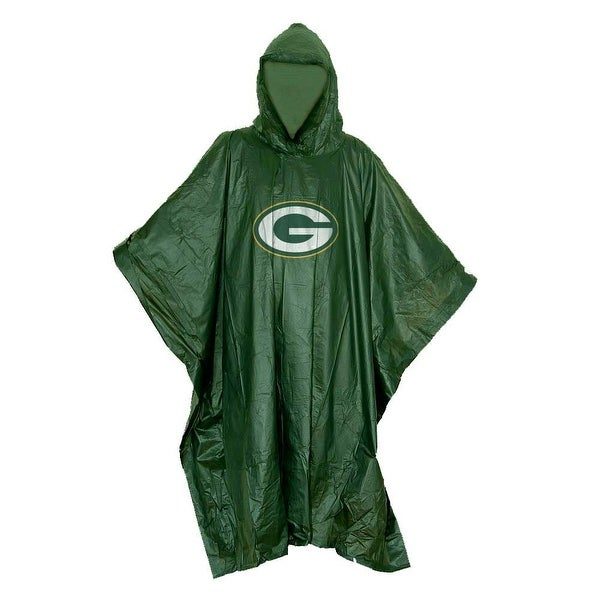 Green Bay Packers Lightweight Poncho. Opens flyout.