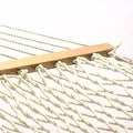 Sunnydaze Polyester Rope Hammock with Spreader Bars (Pillow NOT Included) - Thumbnail 4