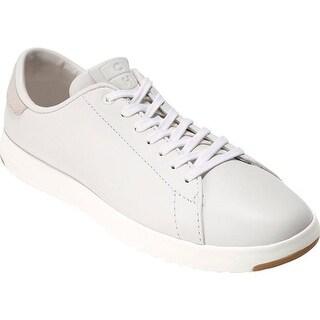 Cole Haan Women's GrandPro Tennis Sneaker Optic White Leather/Optic White