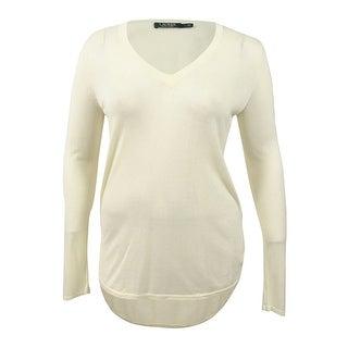 Lauren Ralph Lauren Women's V-Neck Sweater