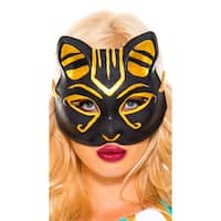 Egyptian Cat Mask, Egyptian Mask - as shown - One Size Fits most