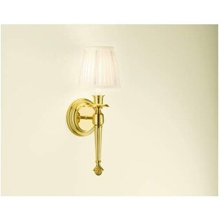 Robern MLLWFY Single Light Wall Sconce with White Shade