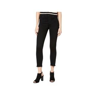 Lucky Brand Womens Bridgette Skinny Jeans Frayed Hem Distressed
