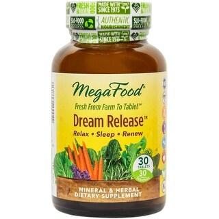 MegaFood Dream Release - 30 Tablets