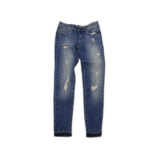 American Rag Blue Charlie Wash Ripped Skinny Jeans