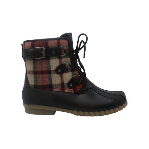 Bare Traps Womens fahn Closed Toe Mid-Calf Cold Weather Boots