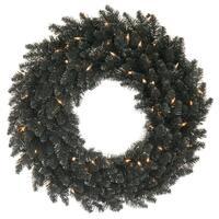 """48"""" Black Fir Wreath 480T"""