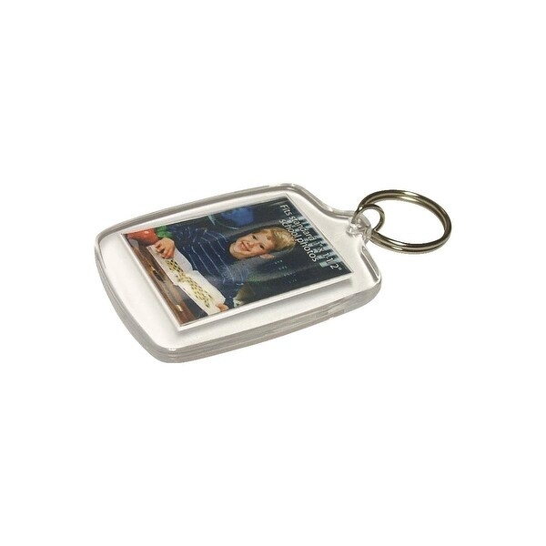 Lucky Line Key Chain Photo Holder