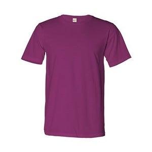 Organic Cotton T-Shirt - Raspberry - XS