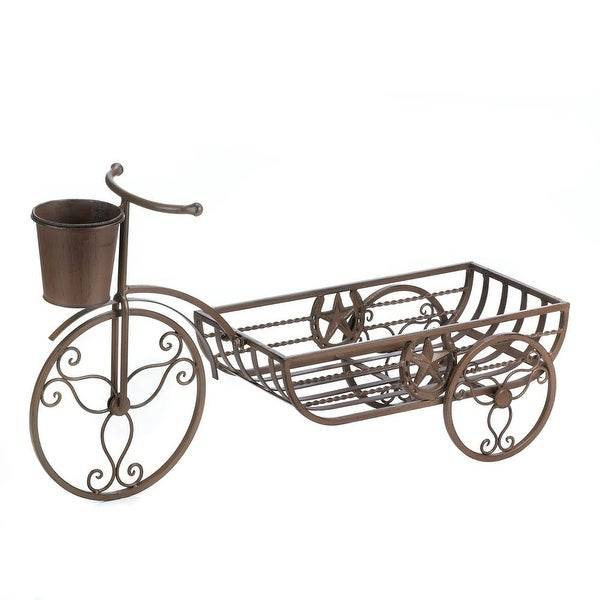 Western Tricycle Plant Stand