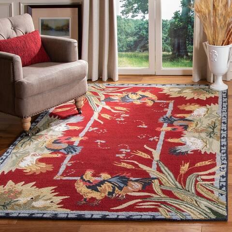 Safavieh Hand-hooked Chelsea Chelsy Country Oriental Wool Rug