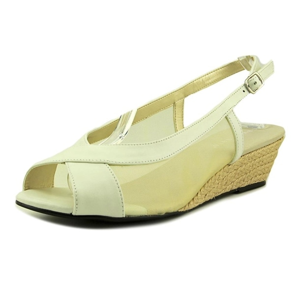 David Tate Portos Women White Sandals