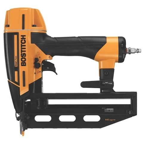 "Bostitch BTFP71917 Smart Point 16-Gauge Finish Nailer Kit, 2-1/2"""
