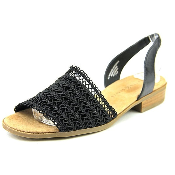 Karen Scott Jonnah Women Black Sandals
