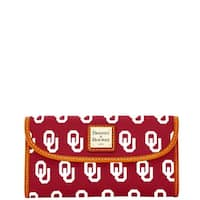 Dooney & Bourke NCAA Oklahoma Continental Clutch Wallet (Introduced by Dooney & Bourke at $128 in Jan 2015)