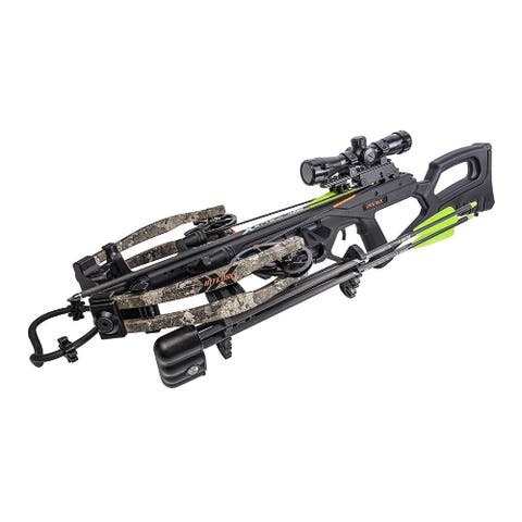 Bear Archery 400 FPS Bear X Intense Crossbow Package (True Timber)