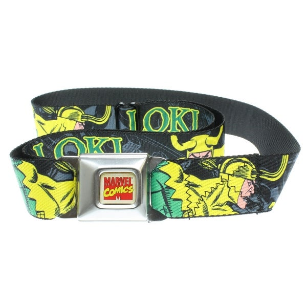 Marvel Comics Loki Seatbelt The Avengers Asgard Belt