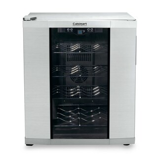 Cuisinart CWC-1600 16 Bottle Private Reserve Wine Cellar, Stainless Finish