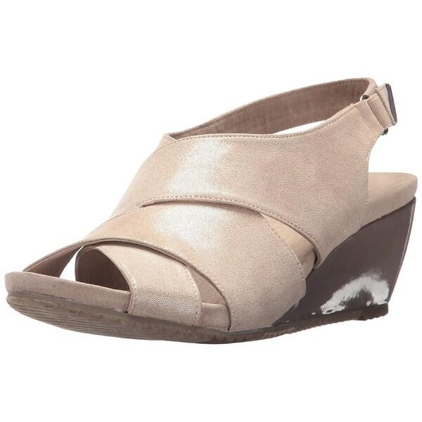 Anne Klein Womens Carolyn Open Toe Casual Platform Sandals - 6.5