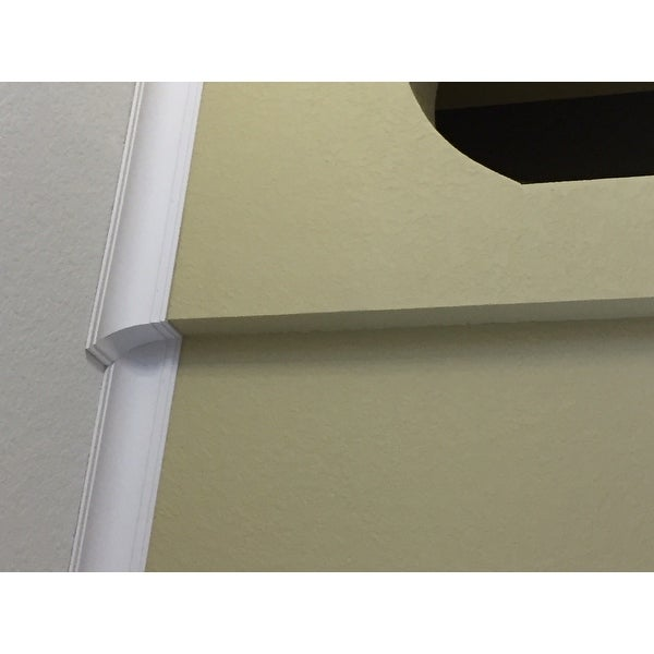 Smooth Cove 6 4-inch Crown Molding (8 pieces)