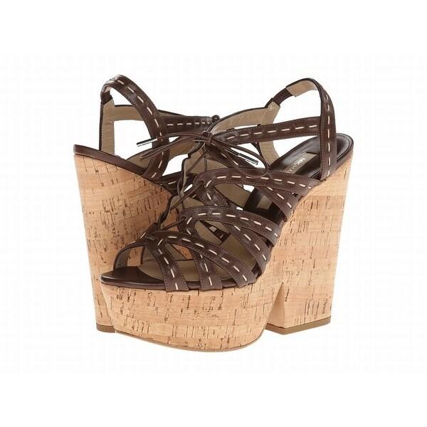 Michael Kors NEW Brown Shoes Size 7M Platforms & Wedges Heels