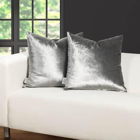 F. Scott Fitzgerald Sterling Silver Throw Pillow