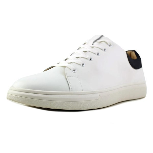 f60a470185c1 Shop Sam Edelman Jimmy Men Round Toe Leather White Sneakers - Free ...