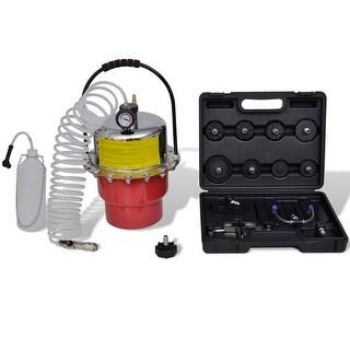 vidaXL Pneumatic Air Pressure Bleeder Tool Set