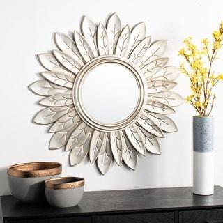 "Link to Safavieh 30"" Alba Sunburst Mirror - 30.3"" x 1.5"" x 30.3"" Similar Items in Mirrors"